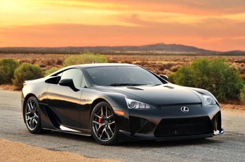 1 - Lexus LF-A Front