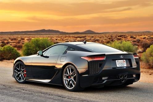 2 - Lexus LF-A Back