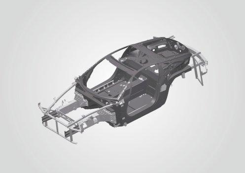 4 - Lexus LF-A Carbon Fibre Monocoque