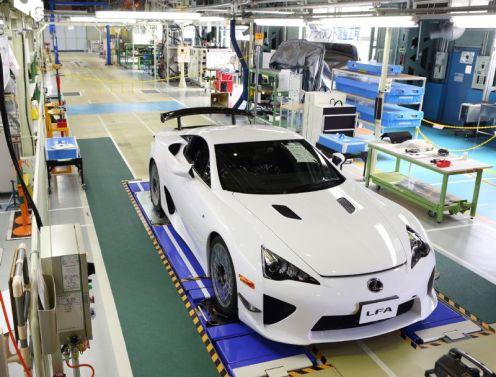 5 - Lexus LF-A Production Line