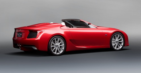 7 - Lexus LF-A Roadster Concept