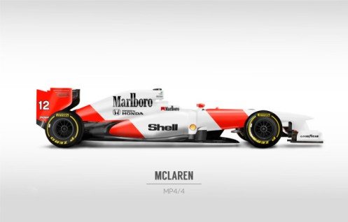 8 - Really wish the Mclaren looked like this